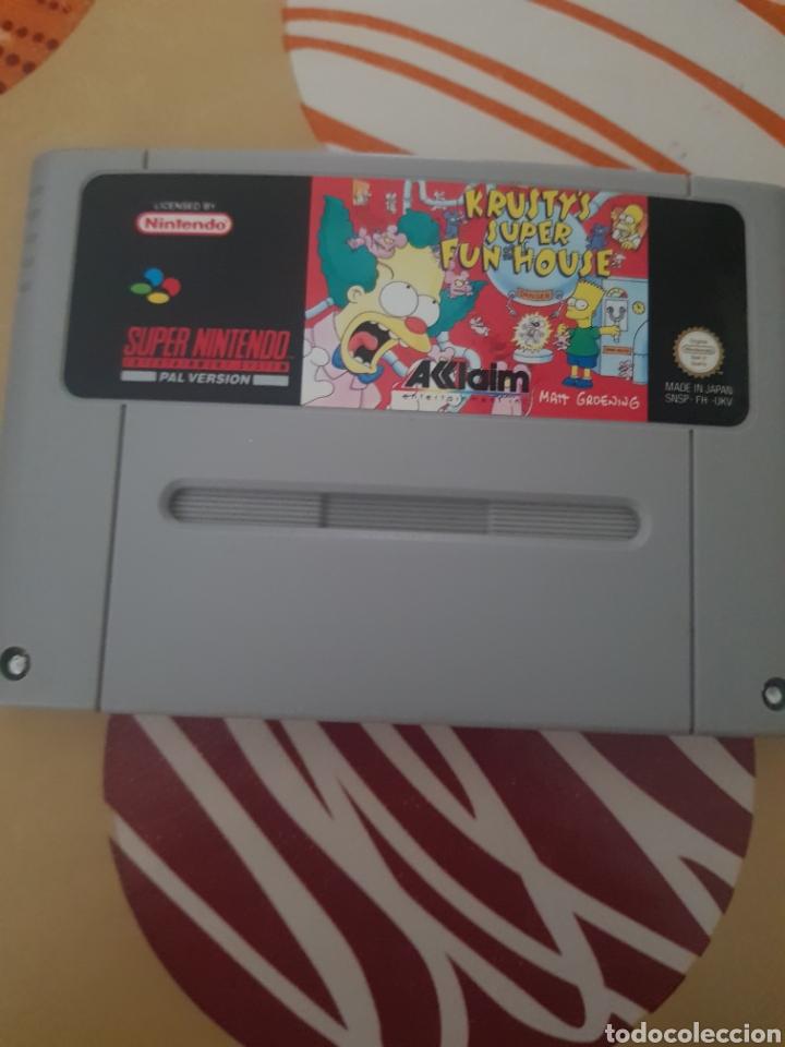KRUSTY SUPER FUN HOUSE (Juguetes - Videojuegos y Consolas - Nintendo - SuperNintendo)
