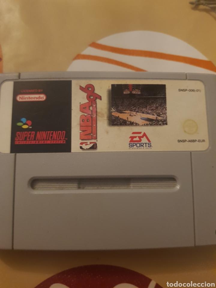 NBA 96 (Juguetes - Videojuegos y Consolas - Nintendo - SuperNintendo)