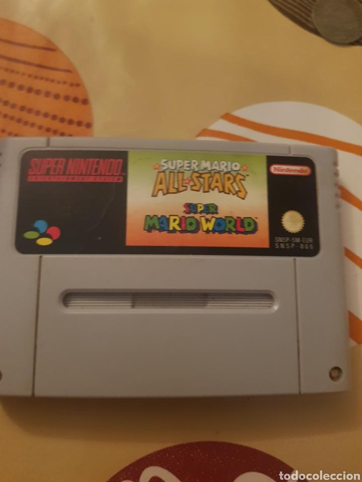 SUPER MARIO ALL STARS + MARIO WORLD (Juguetes - Videojuegos y Consolas - Nintendo - SuperNintendo)
