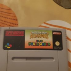 Videojuegos y Consolas: SUPER MARIO ALL STARS + MARIO WORLD. Lote 205054417