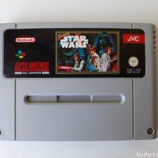 Videojogos e Consolas: SUPER STAR WARS SUPER NINTENDO SNES. Lote 205180213