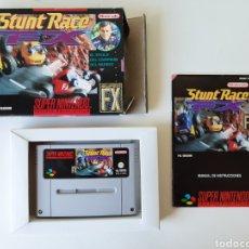 Videojuegos y Consolas: STUNT RACE FX SUPER NINTENDO SNES. Lote 205180710
