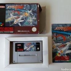 Videojuegos y Consolas: HYPERZONE HYPER ZONE SUPER NINTENDO SNES. Lote 205180891