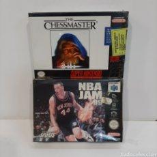 Videojuegos y Consolas: LOTE 2 JUEGOS NUEVOS SÚPER NINTENDO Y N64. Lote 205183948
