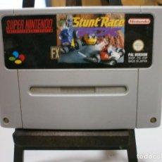 Videojuegos y Consolas: JUEGO SUPERNINTENDO SNES STUNT RACE FX PAL ESP. Lote 205560456