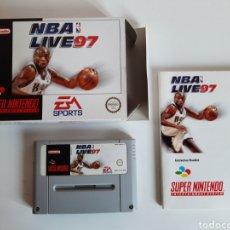 Videojuegos y Consolas: NBA LIVE 97 SUPER NINTENDO SNES. Lote 206177088