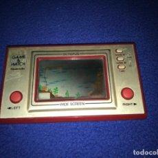 Videojuegos y Consolas: JUEGO ELECTRONICO NINTENDO GAME & WATCH OCTOPUS 1981 FUNCIONANDO PERFECTO. Lote 206464788