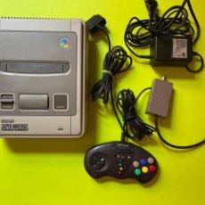 Videojuegos y Consolas: SNES SUPER NINTENDO CON MANDO. Lote 206543766