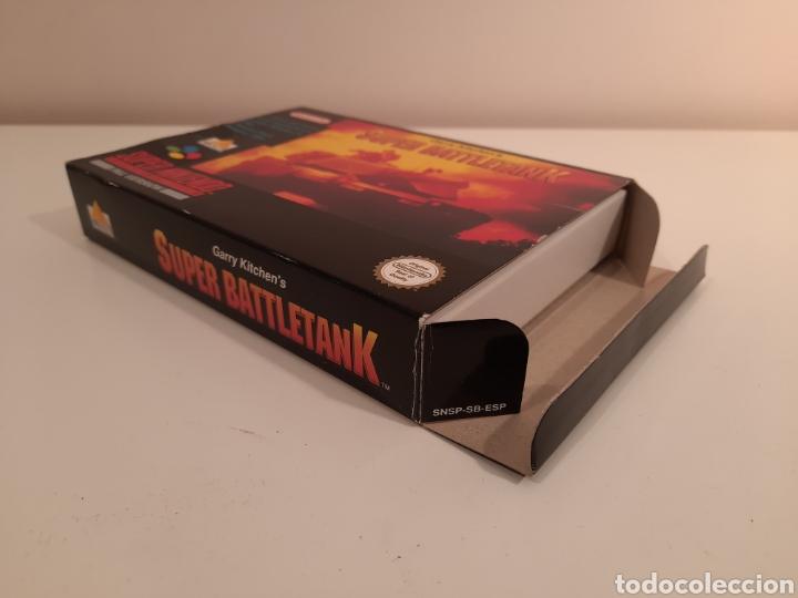 Videojuegos y Consolas: Super Battletank SUPER NINTENDO SNES - Foto 3 - 175597032