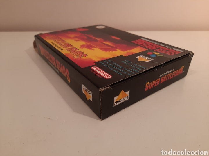 Videojuegos y Consolas: Super Battletank SUPER NINTENDO SNES - Foto 5 - 175597032