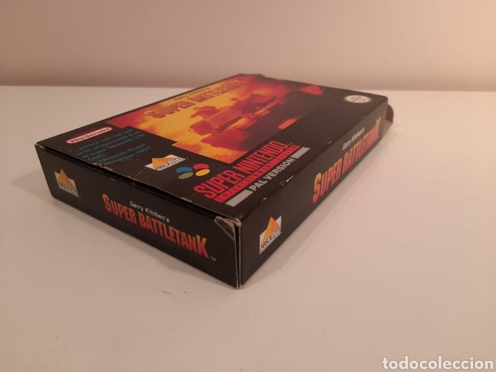 Videojuegos y Consolas: Super Battletank SUPER NINTENDO SNES - Foto 6 - 175597032