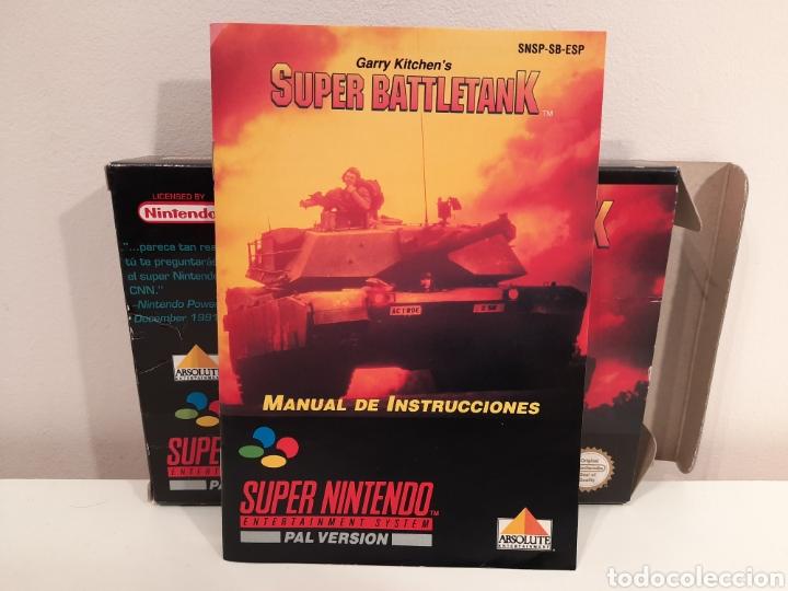 Videojuegos y Consolas: Super Battletank SUPER NINTENDO SNES - Foto 8 - 175597032