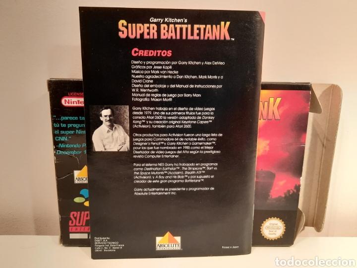 Videojuegos y Consolas: Super Battletank SUPER NINTENDO SNES - Foto 9 - 175597032