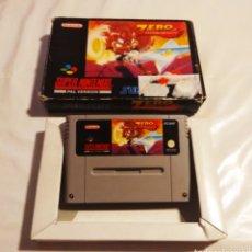 Videojuegos y Consolas: ZERO THE KAMIKAZE SQUIRREL SNES. Lote 208144055