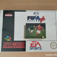 Videojuegos y Consolas: SUPERNINTENDO EL FIFA SOCCER 96. Lote 208453751