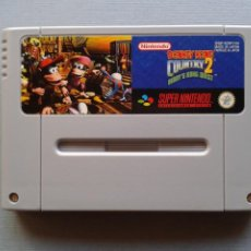 Videojuegos y Consolas: SUPER NINTENDO SNES DONKEY KONG COUNTRY 2 DIDDY´S QUEST SOLO CARTUCHO PAL ESP R11175. Lote 210651136