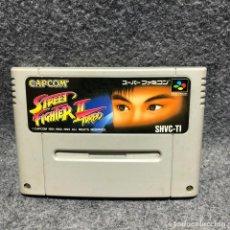 Videojuegos y Consolas: STREET FIGHTER II TURBO SUPER FAMICOM NINTENDO SNES. Lote 210756622