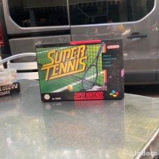 Videojuegos y Consolas: JUEGO SUPER TENNIS SUPER NINTENDO SNES PAL ESPAÑA COMPLETO.NUEVO. Lote 210773399