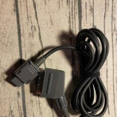 Videojuegos y Consolas: CABLE OFICIAL NINTENDO SNES PAL RGB. Lote 210788196