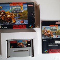 Videojuegos y Consolas: DONKEY KONG 3 SUPER NINTENDO SNES. Lote 210977306