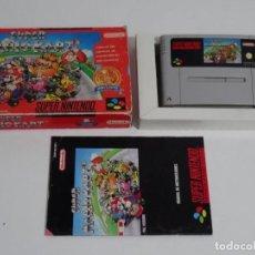 Videojuegos y Consolas: NINTENDO SUPER NINTENDO - MARIO KART ED. ESPAÑOLA SUPERNINTENDO 16 BITS. Lote 211508820
