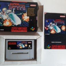 Jeux Vidéo et Consoles: SUPER R-TYPE SUPER NINTENDO SNES. Lote 212553965
