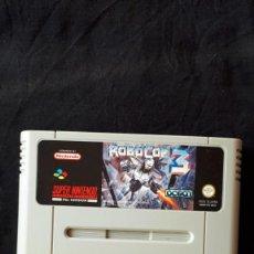 Videojuegos y Consolas: ROBOCOP 3 - SUPER NINTENDO - SNES - CARTUCHO - PAL - PERFECTO. Lote 213298516