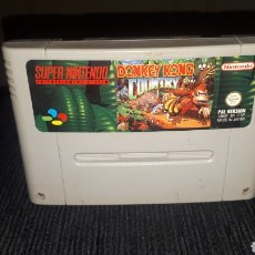 Videojuegos y Consolas: DONKEY KONG COUNTRY 1992 SUPER NINTENDO NES. Lote 214037851