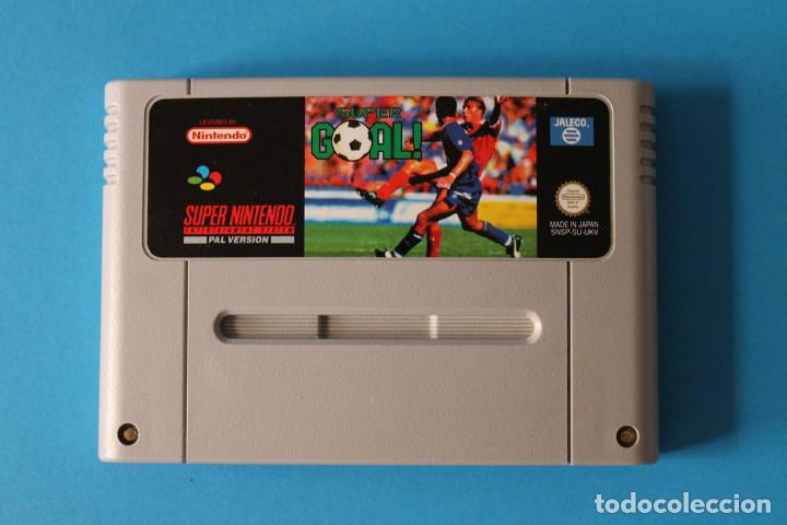 SUPER NINTENDO - SUPER GOAL! - SNES (Juguetes - Videojuegos y Consolas - Nintendo - SuperNintendo)