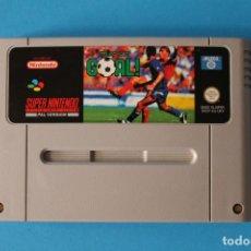 Videojuegos y Consolas: SUPER NINTENDO - SUPER GOAL! - SNES. Lote 214219296