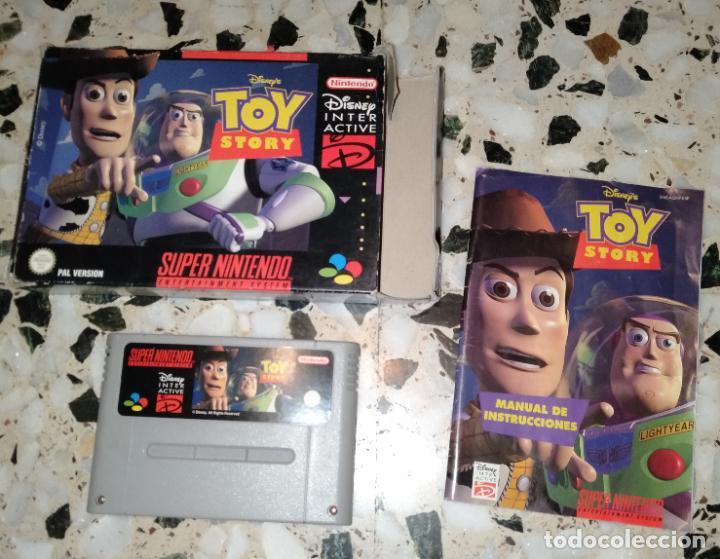 TOY STORY SUPERNINTENDO SUPER NINTENDO (Juguetes - Videojuegos y Consolas - Nintendo - SuperNintendo)