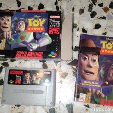 Videojuegos y Consolas: TOY STORY SUPERNINTENDO SUPER NINTENDO. Lote 214753518