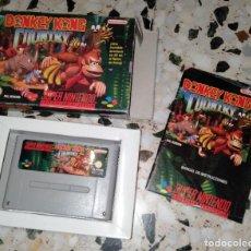 Videojuegos y Consolas: DONKEY KONG COUNTRY SUPERNINTENDO SUPER NINTENDO. Lote 214753845