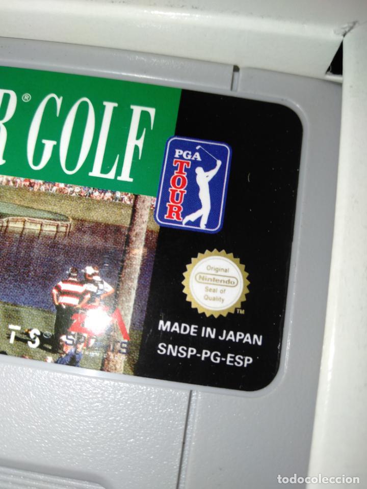 Videojuegos y Consolas: PGA tour Golf supernintendo super Nintendo - Foto 2 - 214753977