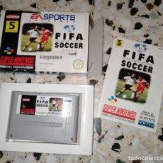 Videojuegos y Consolas: FIFA SUPERNINTENDO SUPER NINTENDO. Lote 214754286