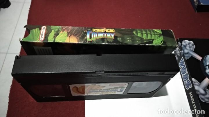 Videojuegos y Consolas: VHS NINTENDO COMO SE HIZO DONKEY KONG COUNTRY - SUPER NINTENDO SNES 1994 - Foto 5 - 215681790