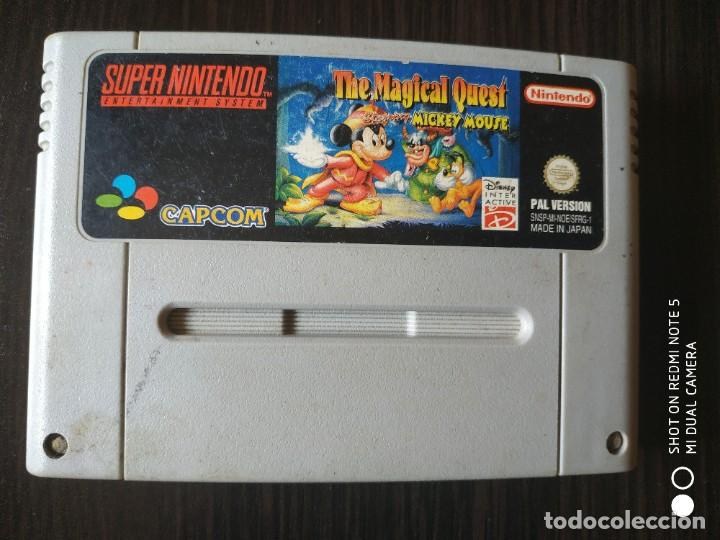 MICKEY MOUSE THE MAGICAL QUEST PAL SUPERNINTENDO SUPER NINTENDO (Juguetes - Videojuegos y Consolas - Nintendo - SuperNintendo)
