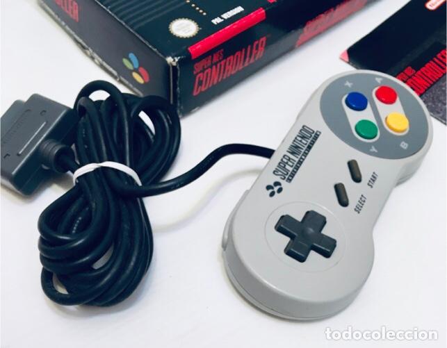 Videojuegos y Consolas: Mando Controlador Controller [SuperNintendo SNES Super NES] 1992 [PAL] SNSP-A-CR(ESP) - Foto 5 - 216496165