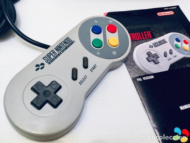 Videojuegos y Consolas: Mando Controlador Controller [SuperNintendo SNES Super NES] 1992 [PAL] SNSP-A-CR(ESP) - Foto 7 - 216496165