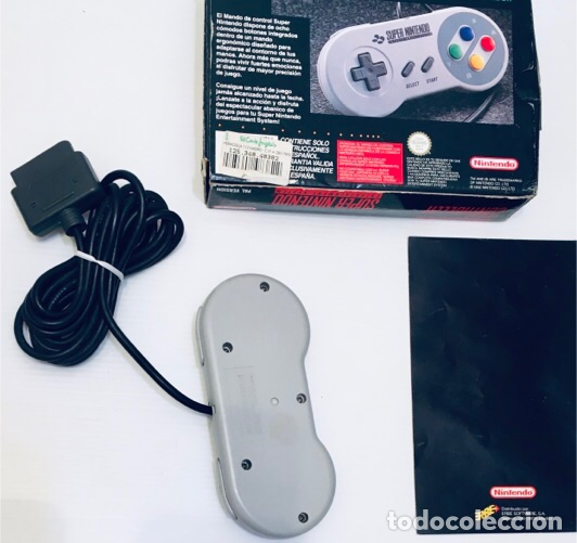 Videojuegos y Consolas: Mando Controlador Controller [SuperNintendo SNES Super NES] 1992 [PAL] SNSP-A-CR(ESP) - Foto 4 - 216496165