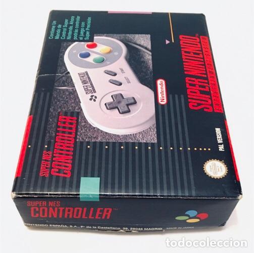 MANDO CONTROLADOR CONTROLLER [SUPERNINTENDO SNES SUPER NES] 1992 [PAL] SNSP-A-CR(ESP) (Juguetes - Videojuegos y Consolas - Nintendo - SuperNintendo)