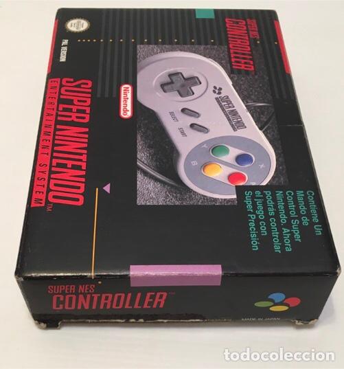 Videojuegos y Consolas: Mando Controlador Controller [SuperNintendo SNES Super NES] 1992 [PAL] SNSP-A-CR(ESP) - Foto 2 - 216496165
