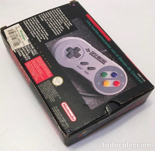 Videojuegos y Consolas: Mando Controlador Controller [SuperNintendo SNES Super NES] 1992 [PAL] SNSP-A-CR(ESP) - Foto 10 - 216496165