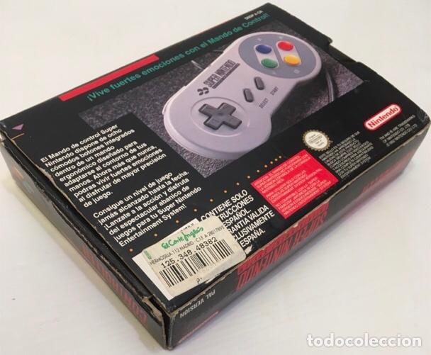 Videojuegos y Consolas: Mando Controlador Controller [SuperNintendo SNES Super NES] 1992 [PAL] SNSP-A-CR(ESP) - Foto 11 - 216496165