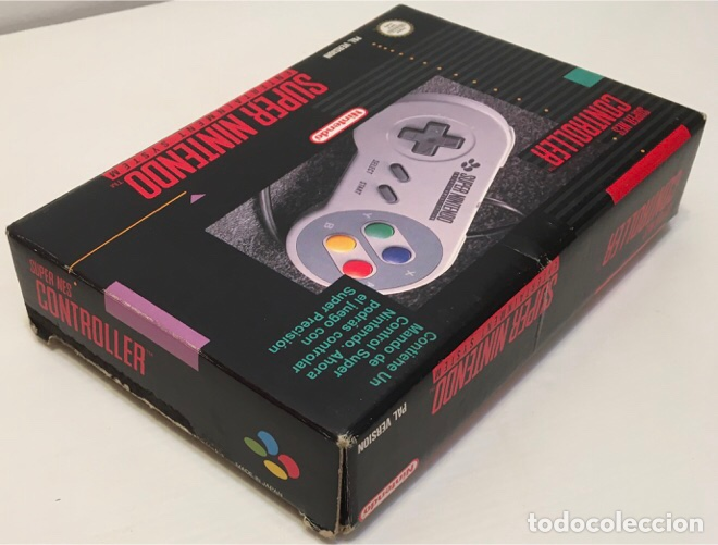 Videojuegos y Consolas: Mando Controlador Controller [SuperNintendo SNES Super NES] 1992 [PAL] SNSP-A-CR(ESP) - Foto 12 - 216496165
