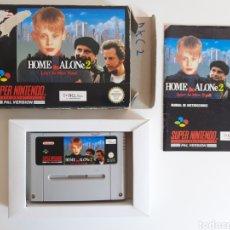 Videojuegos y Consolas: HOME ALONE 2 COMPLETO SUPER NINTENDO SNES. Lote 216716110
