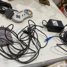 Jeux Vidéo et Consoles: JUEGO MANDO Y CABLES SNES ORIGINALES NUEVOS - VER LAS IMAGINES. Lote 216814791