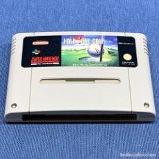 Videojuegos y Consolas: VIDEOJUEGO SUPER NINTENDO SNES - HOLE IN ONE GOLF - SOLO CARTUCHO. Lote 217065968