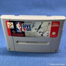 Jeux Vidéo et Consoles: VIDEOJUEGO NINTENDO - SUPER NINTENDO - NBA GIVE´N GO - SOLO CARTUCHO - 1995. Lote 217203321