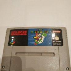 Jeux Vidéo et Consoles: SUPER MARIO WORLD.. Lote 217386565